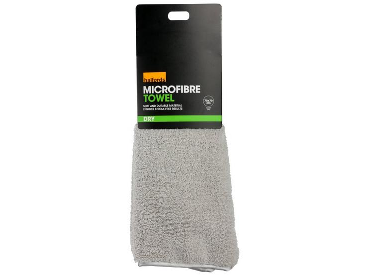 Halfords Supersoft Microfibre Towel