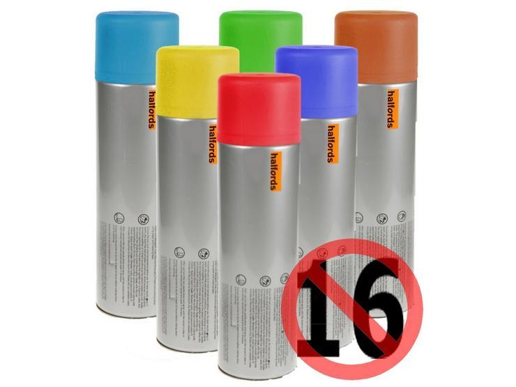 Halfords Zinc Primer Spray 300ml