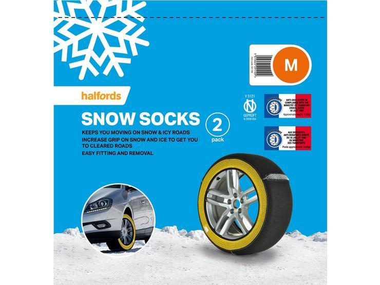 Halfords Snow Socks Medium