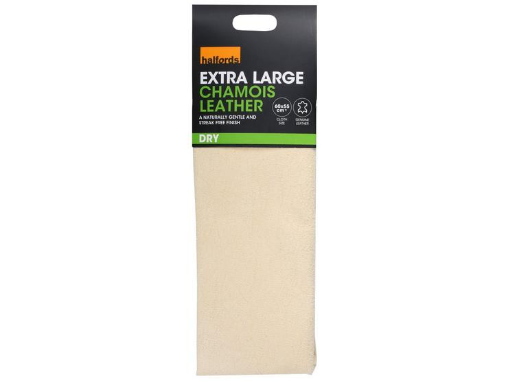 Halfords Leather Chamois (Extra Large)