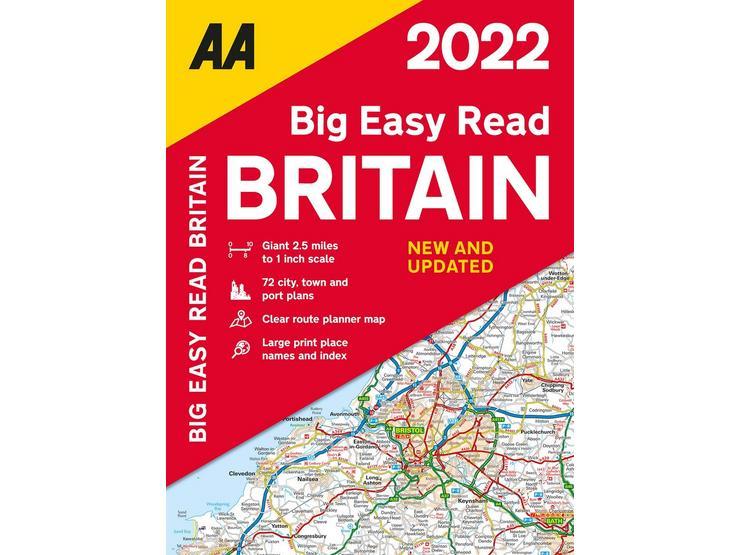 Big Easy Read Atlas Britain 2022 pb