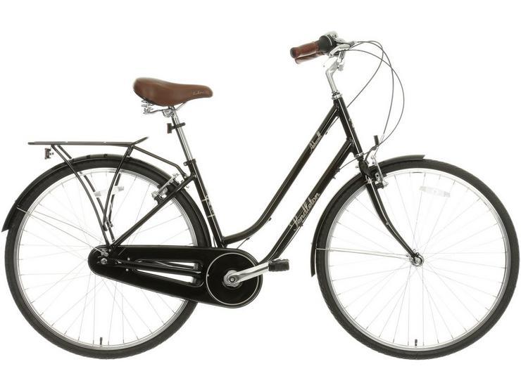 "Pendleton Ashwell Hybrid Bike - Black - 17"", 19"" Frames"