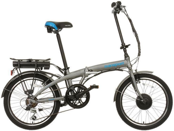 "Apollo Transport Electric Folding Bike - 20"" Wheel"